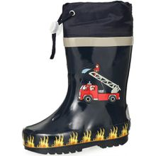 Playshoes Gummistiefel - Feuerwehr