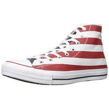 Converse Stars & Bars Hi 020820-55-3, Unisex-Erwachsene Sneaker, Weiß (Blanc/Bleu/Rouge), EU 37