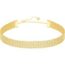Fit Halskette, goldfarben, vergoldet