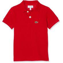 Lacoste Jungen Poloshirt Pj2909, Rot (Rouge), 8 Jahre (Herstellergröße: 8A)