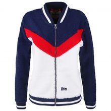 Alprausch - Women's Bärli-Baba Teddy Fleece Jacket - Fleecejacke Gr S;XS blau/weiß/schwarz