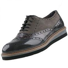 TAMARIS Damen Schnürschuhe Grau, Schuhgröße:EUR 38