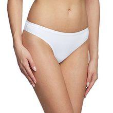 Calida Damen String Comfort, Einfarbig, Gr. 42 (Herstellergröße: S 40/42), Weiß (weiss 001)