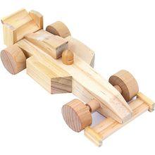 Holzbausatz Rennauto