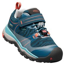 KEEN Kinder Outdoorschuhe TERRADORA LOW WP, waterproof türkis