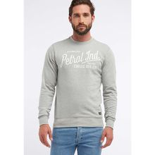 Petrol Industries Sweatshirt grau Herren