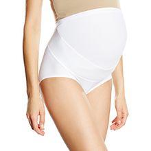 Anita Damen Umstands Unterhose Gr. 75 EU (Herstellergröße :34), Weiß - Weiß
