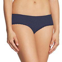 Tommy Hilfiger Damen Panties Marion basic shorty, Einfarbig, Gr. 34 (Herstellergröße: XS), Blau (PEACOAT-PT 409)