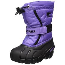 Sorel Childrens Flurry, Kinder Schneestiefel, Violett (Paisley Purple/Black), 31