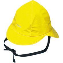 Playshoes Regenmütze mit Baumwollfutter gelb