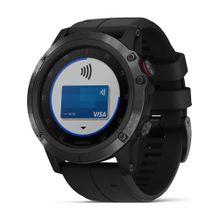 GARMIN Uhren blau / schwarz