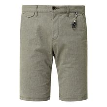 Slim Fit Chino-Shorts mit Webmuster Modell 'Josh'