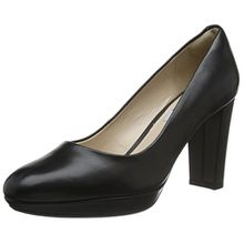 Clarks Damen Kendra Sienna Pumps, Schwarz (Black Leather), 41.5 EU