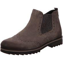 REMONTE - Damen Chelsea Boots - Grau Schuhe in Übergrößen, Größe:44
