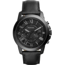 FOSSIL Chronograph 'Grant' anthrazit / schwarz