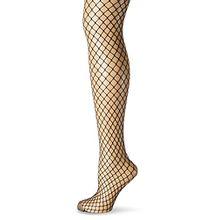 KUNERT Damen hochwertige Netz-Strumpfhose Claudia Schiffer Legs, Schwarz (Black 0440), 42/44