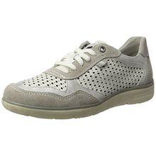 Jana Damen 23704 Sneaker, Weiß (White Comb. 197), 38 EU