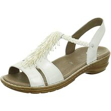 ara Damen Hawaii T-Spangen Sandalen, Grau (Silber), 38 EU