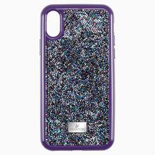 Glam Rock Smartphone Schutzhülle mit Stoßschutz, iPhone® X/XS, violett