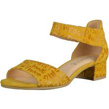 CAPRICE Sandalen Klassische Sandaletten gelb Damen