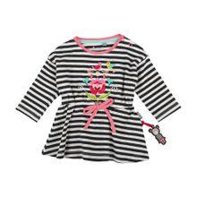 SIGIKID Baby Sweatkleid aqua / apfel / rosé / rot / schwarz / weiß