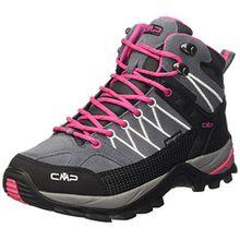 CMP Damen Rigel 3Q12946, Trekking- & Wanderhalbschuhe, Grau (Grey-Fuxia-Ice 103Q), 39 EU