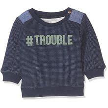 Noppies Baby-Jungen Sweatshirt B Sweater Howard, Mid Bleu, 74
