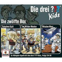 CD Die drei ??? Kids 12/ 3er Box (Folgen 34-36) (3 CDs) Hörbuch