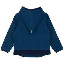 Finkid - Kid's Pikku Pusero Round Hood - Hoodie Gr 120/130 blau;grau