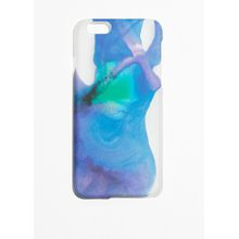 Watercolour iPhone Case - Blue