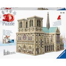 3D-Puzzle, 34x16x26 cm, 327 Teile, Notre Dame