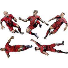 Wandsticker FC Bayern Set 2