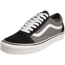 Vans Old Skool, VKW6HR0, Unisex-Erwachsene Sneakers, Schwarz (Black/Pewter), 40.5 EU