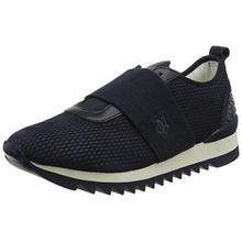 Marc O'Polo Damen Sneaker 80114413501103, Blau (Navy/Black), 42 EU