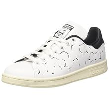 adidas Damen Stan Smith Sneaker, Weiß (Footwear White/Footwear White/Core Black), 38 2/3 EU