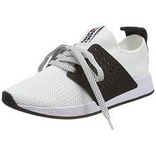 Hilfiger Denim Damen Tommy Jeans Knit Sneaker, Weiß (White 100), 42 EU