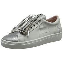 Marc Cain Damen GB SH.12 L18 Sneaker, Weiß (White) (100), 41 EU