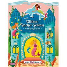 Buch - Mein Glitzer-Sticker-Schloss: Meerjungfrauen