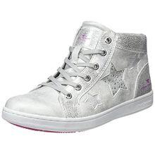 TOM TAILOR Mädchen 4872714 Hohe Sneaker, Weiß (White), 33 EU