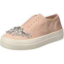 Steve Madden Damen Passion Sneaker, Pink (Blush Fabric), 37/38 EU