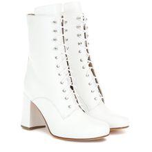 Ankle Boots Emmanuelle aus Leder