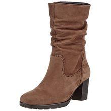 Gabor Shoes Damen Basic Stiefel, Braun (84 Nut), 39 EU