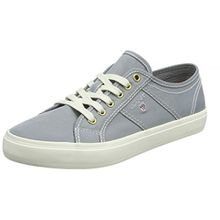 GANT Footwear Damen Zoe Sneaker, Grau (Windy Gray), 38 EU