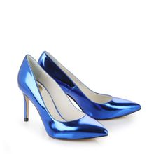 Buffalo Pumps in blau metallic