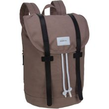 Sandqvist Rucksack / Daypack Stig Backpack Earth Brown/Navy Leather