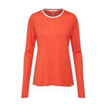 SCOTCH & SODA Shirt orange / schwarz / weiß