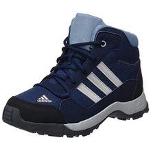 adidas Unisex-Kinder Hyperhiker K Trekking-& Wanderstiefel, Blau (Maruni/Gridos/Grinat 000), 35.5 EU