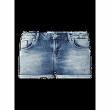 Comfort Fit Jeansshorts mit Stretch-Anteil Modell 'Judie'