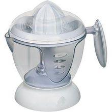 Zitruspresse für frischen Saft aus Zitronen und Orangen inkl. 2 Presskegeln und abnehmbarem 1,2 Liter Saftbehälter inkl. Aromaschutzdeckel, NEU + OVP