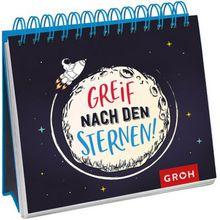 Buch - Greif nach den Sternen!, Spiralaufsteller